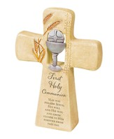 First Communion Cross Figurine
