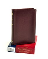 ESV Minister's Bible, Genuine Leather Burgundy
