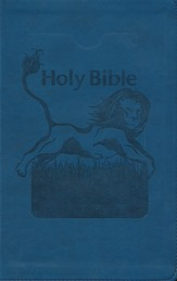 KJV Kids Bible, Flexisoft Blue