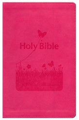 KJV Kids Bible, Flexisoft Pink  - Slightly Imperfect