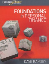 Foundations in Personal Finance Student Workbook Homeschool Edition
