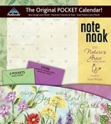 Nature's Grace 2015, Note Nook Wall Calendar with Scripture