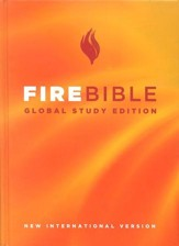 Fire Bible, Global Study Edition, hardcover  - Slightly Imperfect