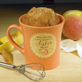 A Peach Of A Sister, Cake Mug with Whisk