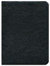 NIV Fire Bible, Global Study Edition genuine Leather black 1984  - Imperfectly Imprinted Bibles