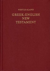 Greek-English New Testament,  Nestle-Aland 27th Edition