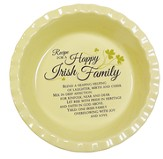 Irish Family Pie Plate