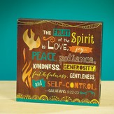 Fruit of the Spirit LED Plaque