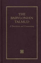 The Babylonian Talmud: A Translation and Commentary, Volume 4