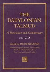 The Babylonian Talmud: A Translation and Commentary  on CD-ROM