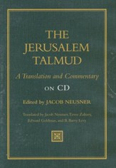 The Jerusalem Talmud: A Translation and Commentary on CD-Rom