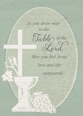Table of the Lord First Communion Cards
