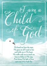 Child of God Baptism Cards