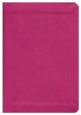 KJV Compact Reference bible, Large Print, Flexisoft Hot Pink