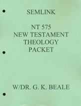New Testament Theology Reading Packet