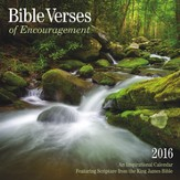 2016 Bible Verses Of Encouragement Wall Calendar