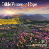 2016 Bible Verses of Hope Wall Calendar