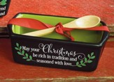May Your Christmas Be Rich In Tradition and Seasoned With love Loaf Pan
