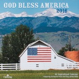 2016 God Bless America Wall Calendar