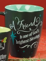 A Friend Is One of God's Brightest Blessings Mug