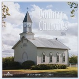 2016 Country Churches Wall Calendar