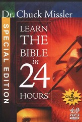 Learn the Bible in 24 Hours                          - Audiobook on MP3 CD-ROM