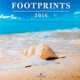 2016 Footprints Wall Calendar