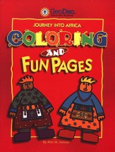 Journey Into Africa: Coloring and Fun Pages