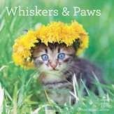 2016 Whiskers and Paws Wall Calendar