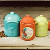 Woman of Faith Canister Set