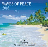 2016 Waves Of Peace Wall Calendar
