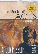 Acts Commentary          - Audiobook on MP3 CD-ROM