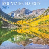 2016 Mountains Majesty Wall Calendar