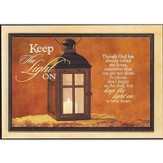 Keep the Light On Plaque