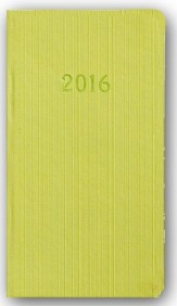 2016 Weekly Pocket Planner, Green