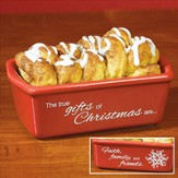 True Gifts of Christmas Loaf Pan