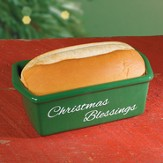 Christmas Blessings In In Your Home Loaf Pan