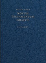 Novum Testamentum Graece, 27th Edition (NA27) with Concise Greek-English Dictionary