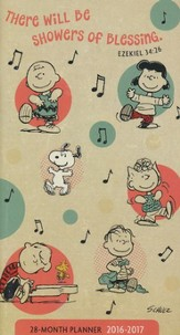 2016-2017 Peanuts Pocket Planner
