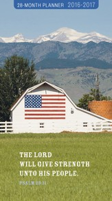 2016-2017 God Bless America Pocket Planner