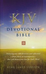 KJV Devotional Bible - Hardcover  - Slightly Imperfect