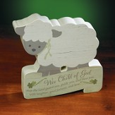 Wee Child Of God, Lamb Plaque