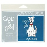 God Is Good, Depend On God Decal Sticker