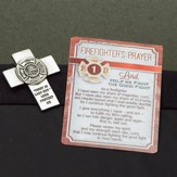 Firefighter Visor Clip and Prayer Card