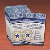 Police Officer Prayer Cards, Pack of 25