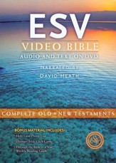ESV Video Bible: Audio and Text on DVD, Voice Only
