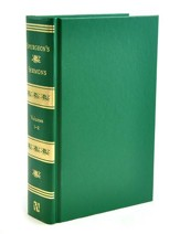 Spurgeon's Sermons, Volume 1