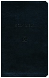KJV Devotional Bible - Flexisoft Leather, Black