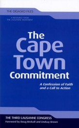 The Cape Town Commitment  - Slightly Imperfect