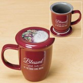 Blessed With Love Coaster Mug